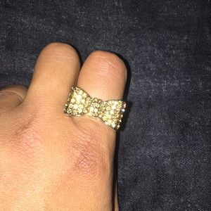 Express Jewelry - bow ring 2/$16